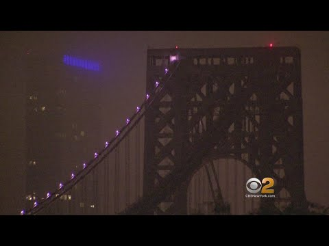 GWB Goes Pink For Breast Cancer Awareness Month