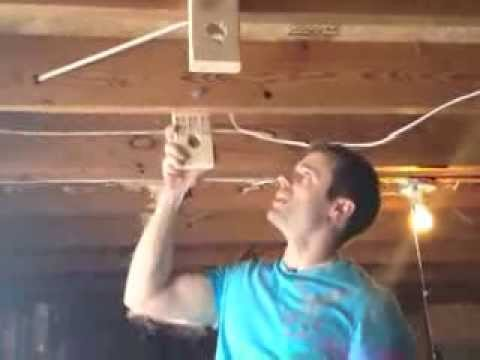How To Install A Home Pull Up Bar Youtube