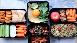 Easy Vegan Lunch Ideas for School or Work // Bento Box Edition
