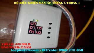 Bộ điều khiển máy ấp trứng mini đầy đủ tính năng giá cả cạnh tranh
