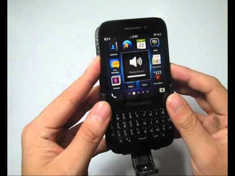 new concept 0477d 968bb PDair Leather Case for BlackBerry Q5 - Flip Type