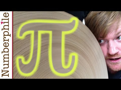The Making of a Mile of Pi - Numberphile
