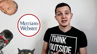 Обзор словаря MERRIAM-WEBSTER (2016) [ПРОВЕРЕНО!]