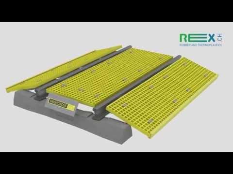 Rex-Swisscross- GFK- Level Crossing - Assembly
