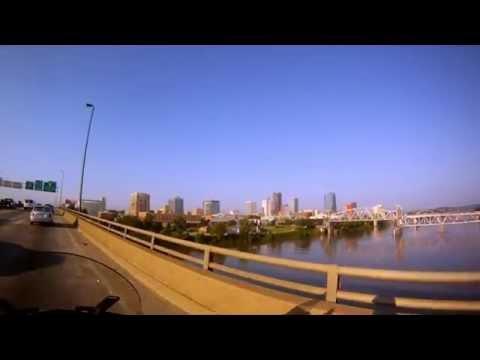 Rush Hour Traffic in the Rock City (Little Rock Arkansas)
