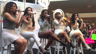 Fifth Harmony Harmonize America Tour - Meriden CT, Performance.