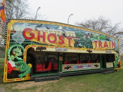 Ghost Train At Carters Steam Fair Reading On Ride Youtube