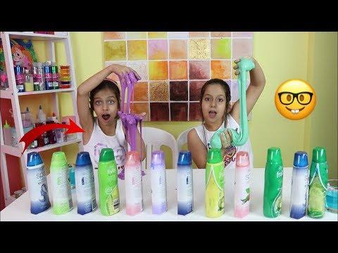 تحدي لا تختار شامبو السلايم الخاطئ !!! Don't Choose the Wrong Shampoo SLIME Challenge
