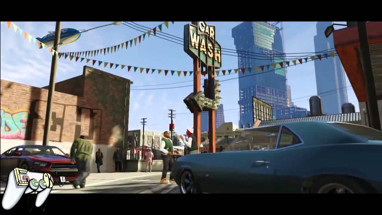 La cinématique de la semaine -GTA V