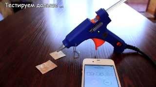 Тестирую клеевой пистолет для Канзаши / Видео ответ / DGHL