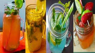 4 *NEW* Lemonade Recipes!fruity Lemonade Recipe|Refreshing NimbuPudina Sharbat-Lemonade Indian Style