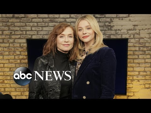 Isabelle Huppert's psycho 'Greta' role scared wits out of co-star Chloë Grace Moretz