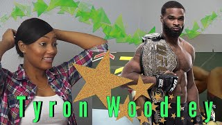 Clueless New MMA Fan Reacts to Tyron Woodley Highlights