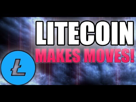 Litecoin Price MAKES MOVES - LTC Areas To Watch