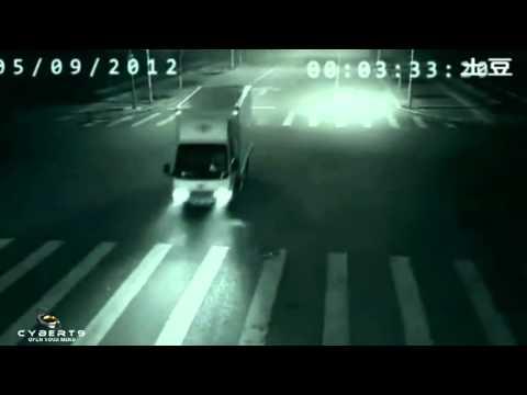 AWESOME teleportation in China - Impresionante teleportación en China