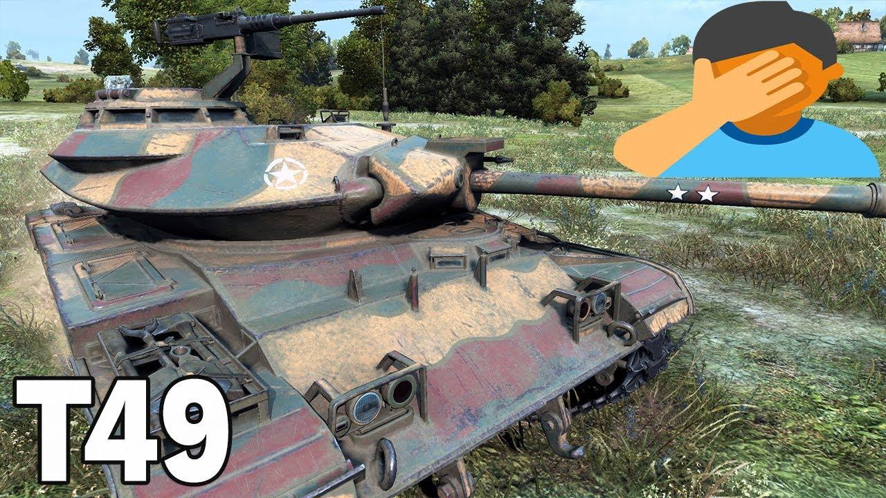 JEDEN ZA WSZYSTKICH – T49 – World of Tanks