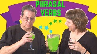 8 common English phrasal verbs like 'turn it on' (separable)