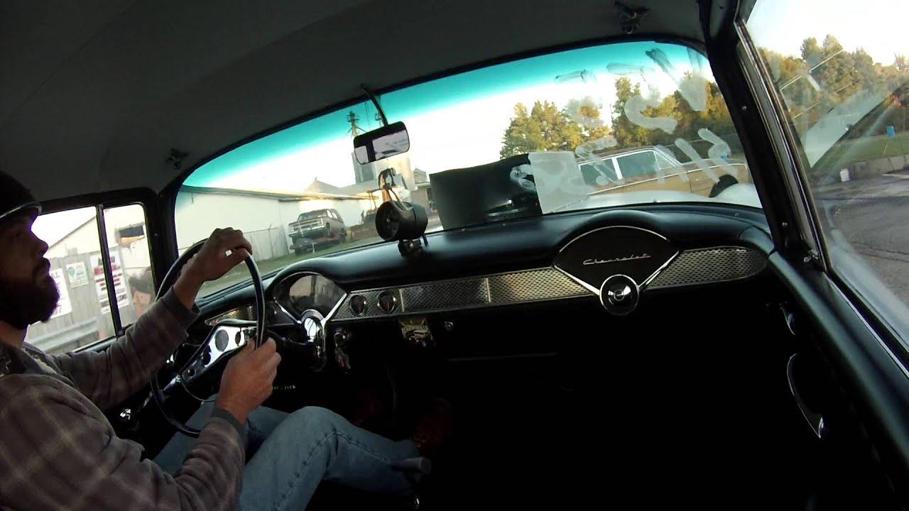 Two Lane Blacktop 55 chevy Straight Axle Mafia - YouTube