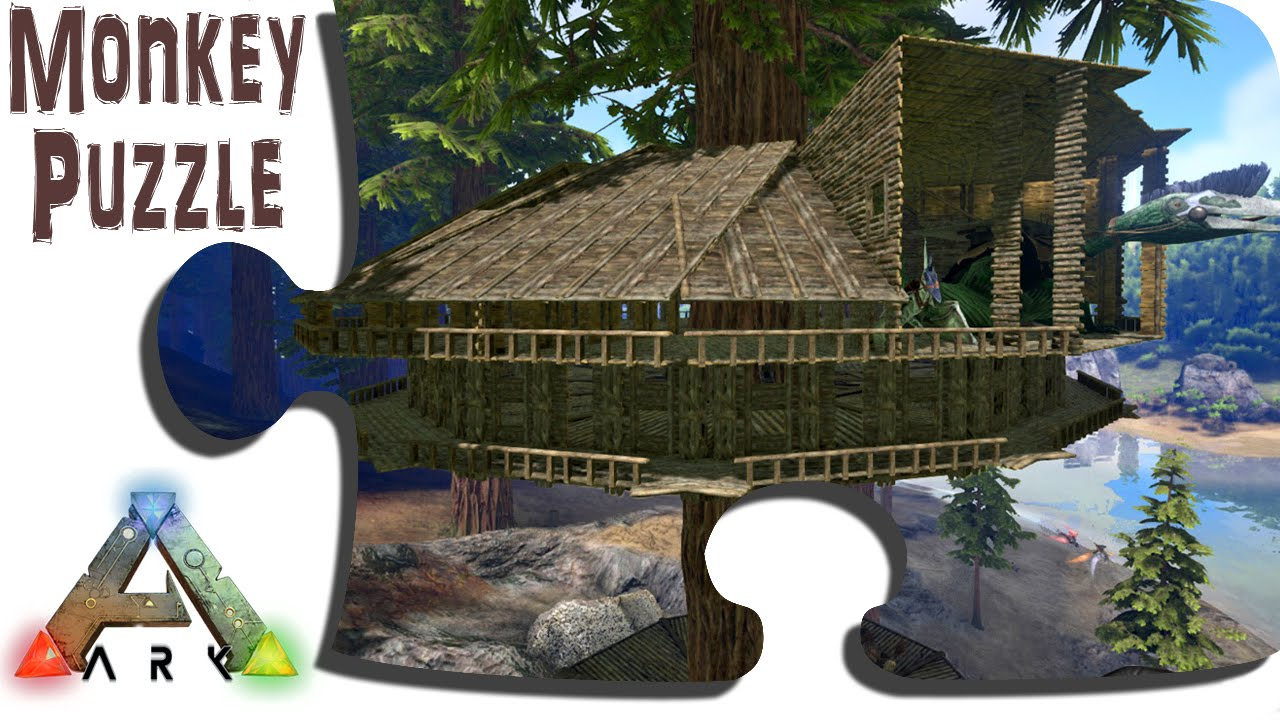 ARK: Advanced Building: Redwood Tree Platform Treehouse - Update 243 - IronMine Vanilla Survival PVE