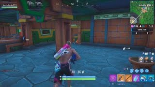 Fortnite Season 9 Week 8 Clock challenge Sundial at Sunny Steps Location 100% Works
