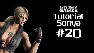 Mortal Kombat 9: Komplete Edition #20 Обучение Sonya [Tutorial][Fatality][PC]