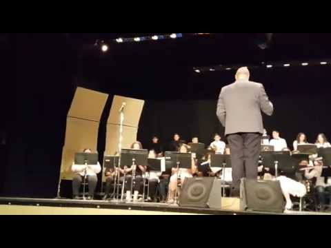 8th grade band Majestia Paul Huber and Ray borane middle school