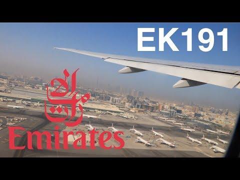 Emirates Boeing 777-300ER Economy Class Review - Dubai ✈ Lisbon EK191