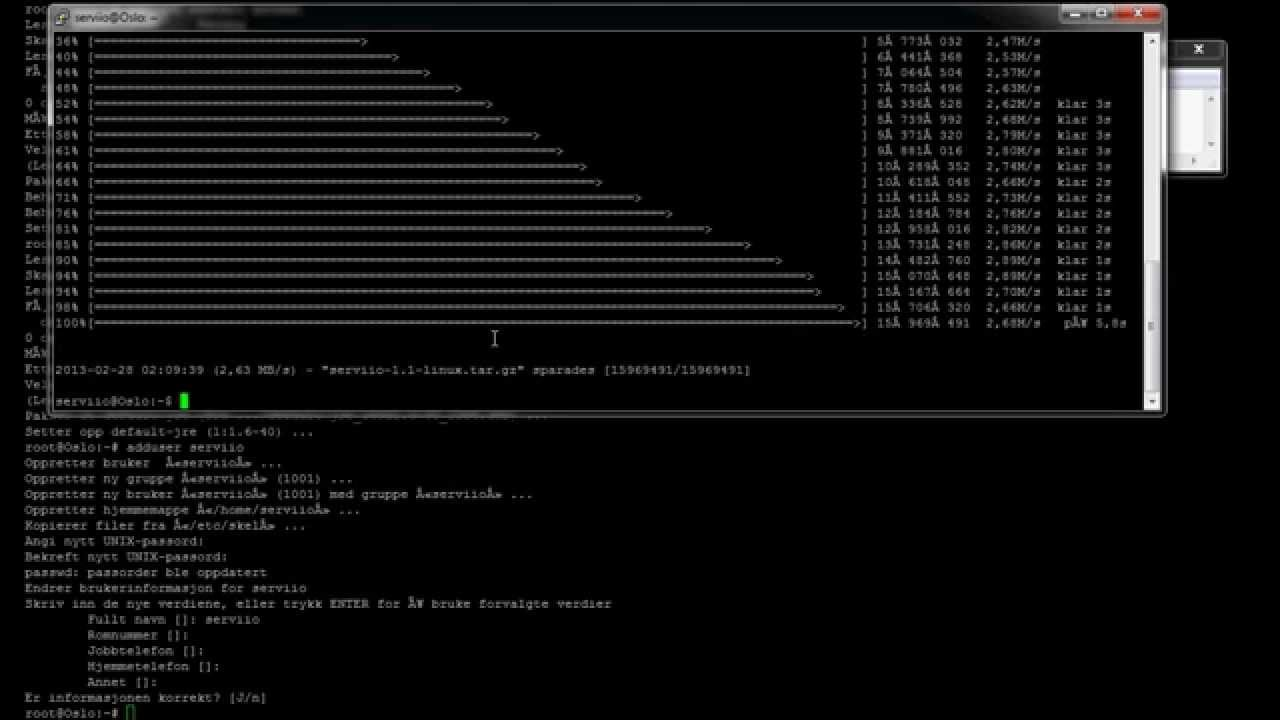 How to install serviio dlna server on linux debian with ffmpeg and  default-jre java howto
