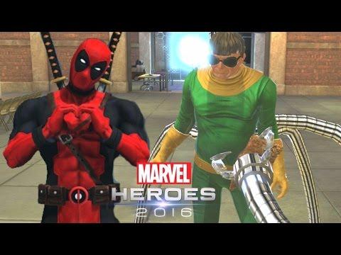 DEADPOOL CONTRA O DOUTOR OCTOPUS! – Marvel Heroes Omega | CLOSED BETA | Português