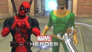 DEADPOOL CONTRA O DOUTOR OCTOPUS! - Marvel Heroes Omega | CLOSED BETA | Português