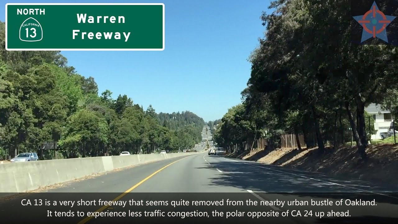 (SP06 EP08) CA 13 North & CA 24 West, Warren Freeway