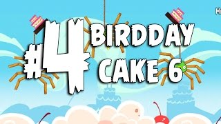 Angry Birds Birdday Party Cake 6 Level 4 Walkthrough 3 Star