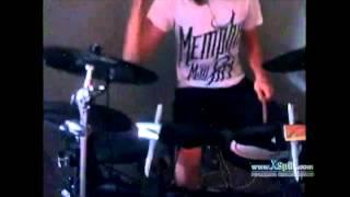 Medeia - The Architect drum cover