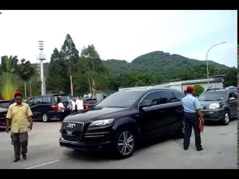 Ketibaan Menteri Besar Terengganu Di TUDM Gong Kedak