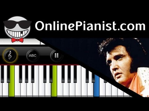 Elvis Presley - Crying in the Chapel - Piano Tutorial & Sheets
