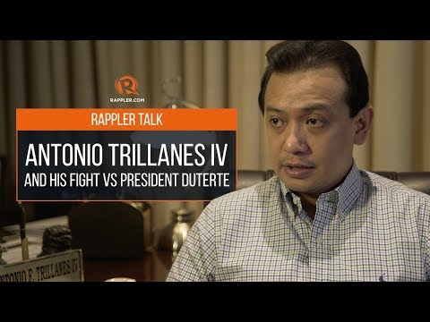 Rappler Talk: Antonio Trillanes IV and his fight vs President Duterte