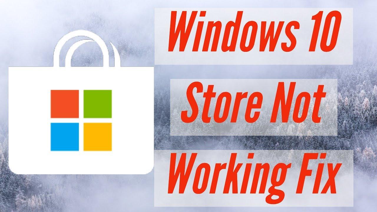 How to Fix Windows 10 App Store Not Working Properly|Error, Repair