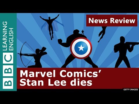 Marvel Comics' Stan Lee dies: BBC News Review