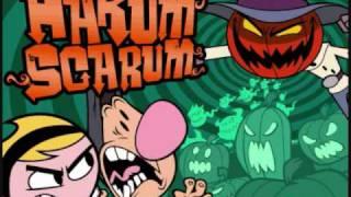 Billy and Mandy Harum Scarum music: Graveyard ver. 2