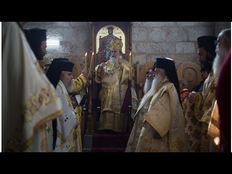 Palestinian Christians tangle with the Greek Orthodox Church in the Holy land properties