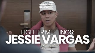 Fighter Meeting: Jessie Vargas (Mikey Garcia Fight)