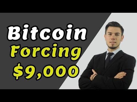 Bitcoin Forcing $9,000 - Bitcoin News Price Prediction