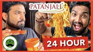 Patanjali 24 Hour Food Challenge | Yeh Nahi Socha tha!! | Veggie Paaji