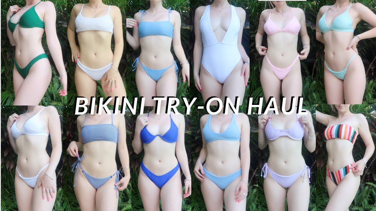 huge summer try-on bikini haul 2019!! zaful
