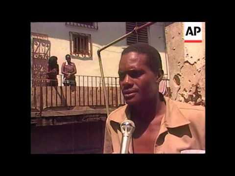 CUBA: HAVANA: RESTORATION PROJECT IMPROVES LIVING CONDITIONS