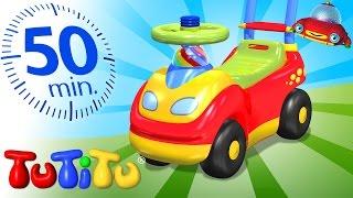 טוטיטו בעברית ברצף | צעצועים על גלגלים | 50 דקות של הנאה לילדים | מכונית צעצוע