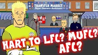 vuclip JOE HART to Liverpool? Man Utd? Arsenal? Transfer Market #3