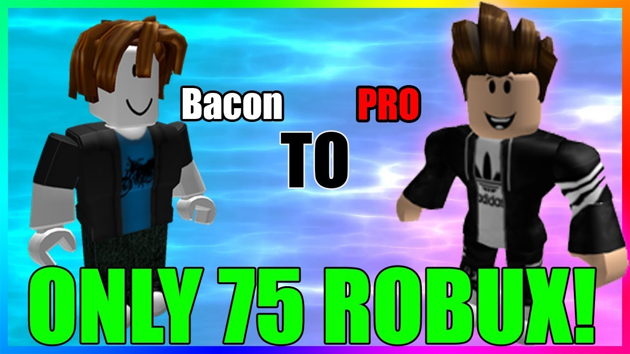How To Make A Cool Roblox Avatar With Only 75 Robux Youtube
