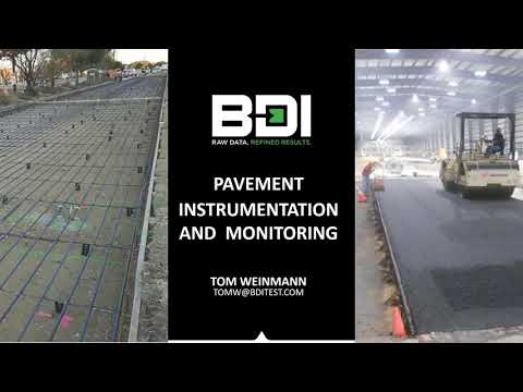 Pavement Instrumentation and Monitoring