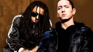 Lil Wayne ft  Eminem - Drop The World  (Clean)